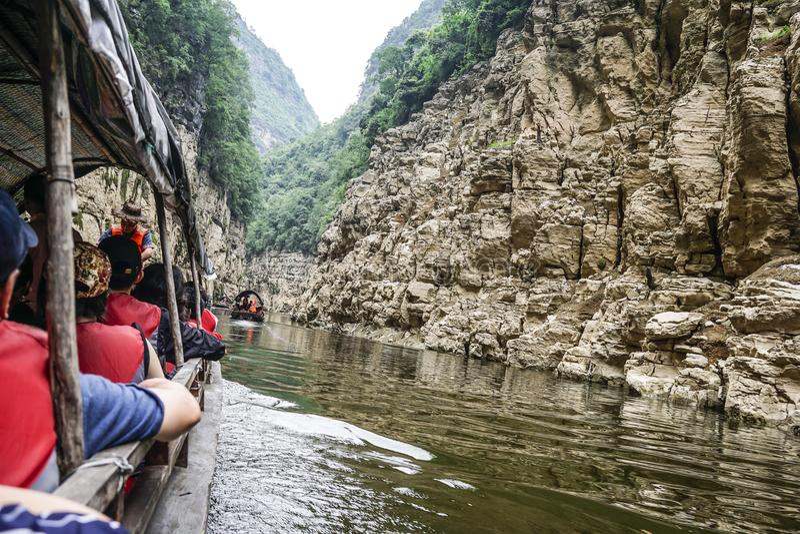 El Three Gorges el río Yangzi fotografía de archivo libre de regalías