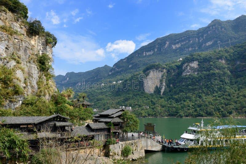 El Three Gorges scenery1 fotografía de archivo libre de regalías