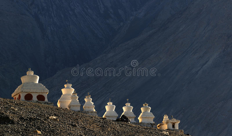 El tibetano chörten fotografía de archivo libre de regalías