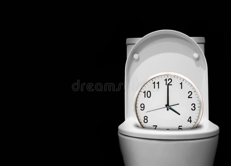 El tiempo duerme lejos fotografía de archivo