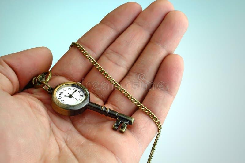 El tiempo es el clave imagen de archivo