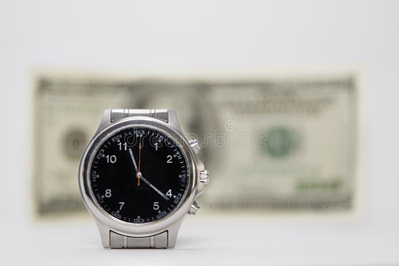 Download El tiempo es oro foto de archivo. Imagen de dólares, conceptual - 1289808