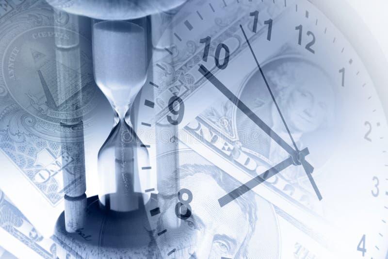 El tiempo es oro imagen de archivo libre de regalías