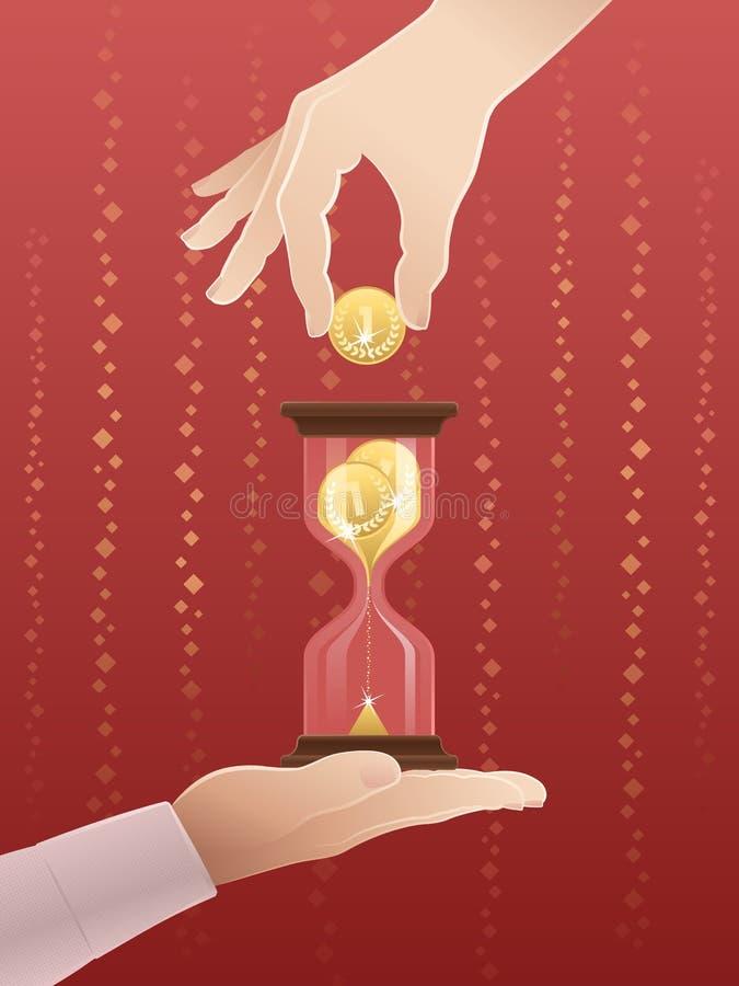 El tiempo es oro libre illustration