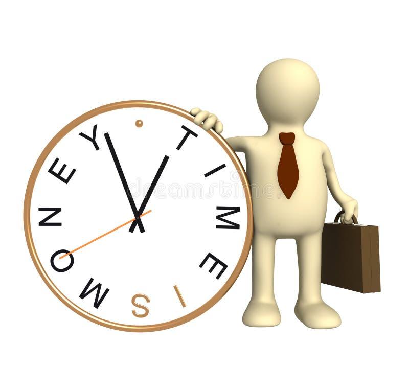 Download El tiempo es oro stock de ilustración. Ilustración de measuring - 7287887