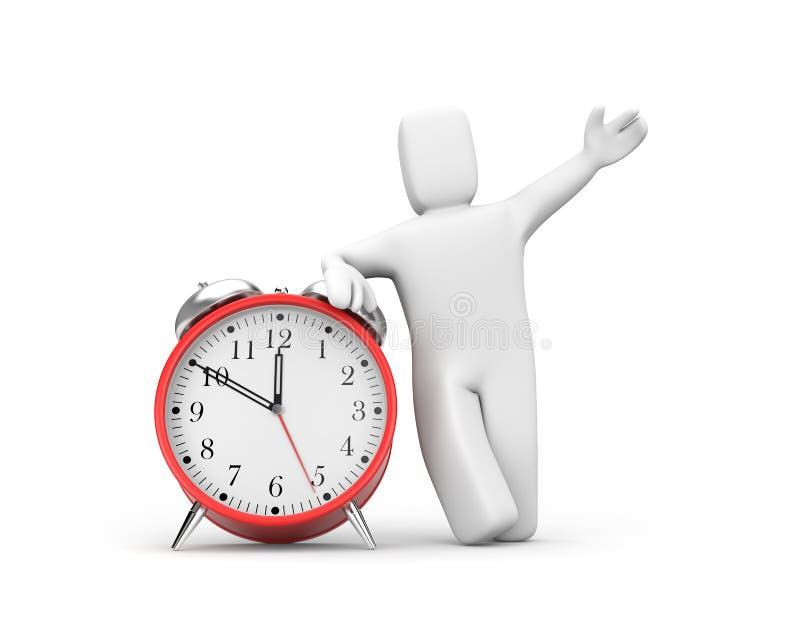 El tiempo ha venido libre illustration