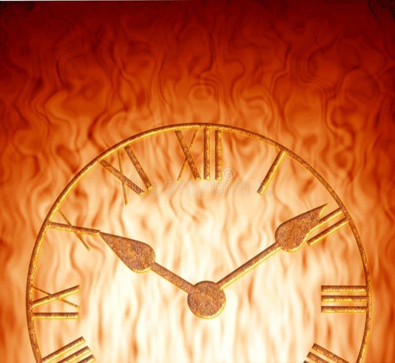 El tiempo no tiene bastantes libre illustration