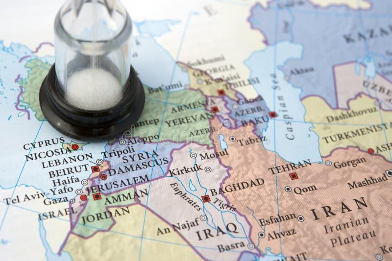 El tiempo se está ejecutando hacia fuera para Siria foto de archivo