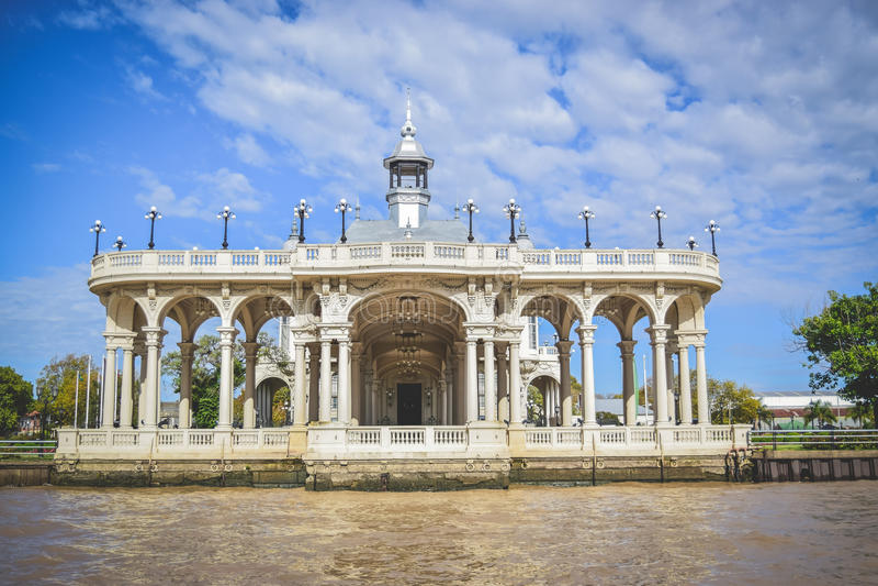 EL TIGRE, BUENOS AIRES, ARGENTINA. Tigre River, in Tigre City, Buenos Aires, Argentina royalty free stock images