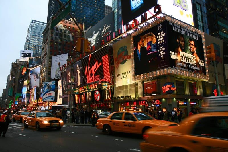 El Times Square imagen de archivo