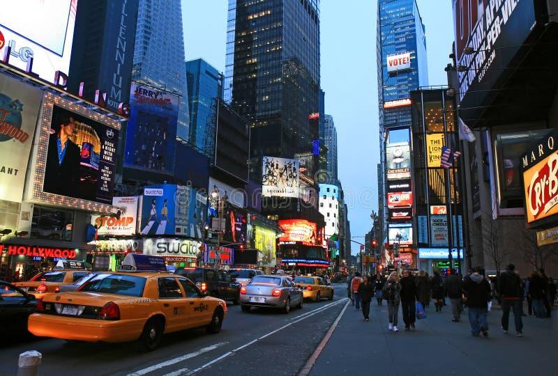 El Times Square foto de archivo