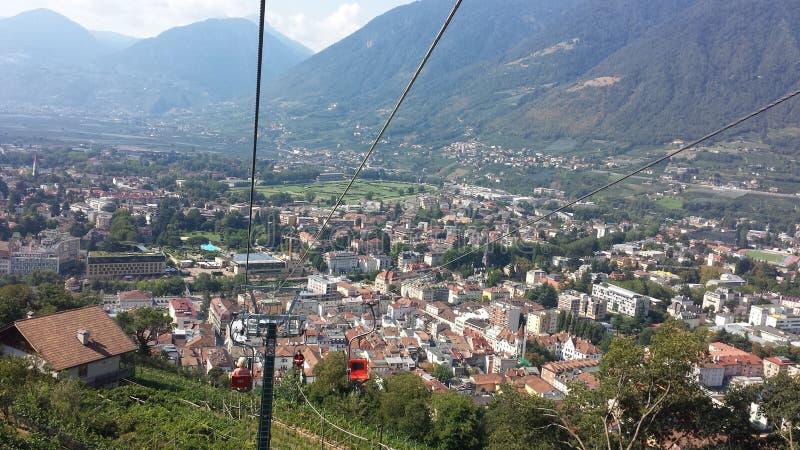 El Tirol del sur, Meran imagen de archivo libre de regalías