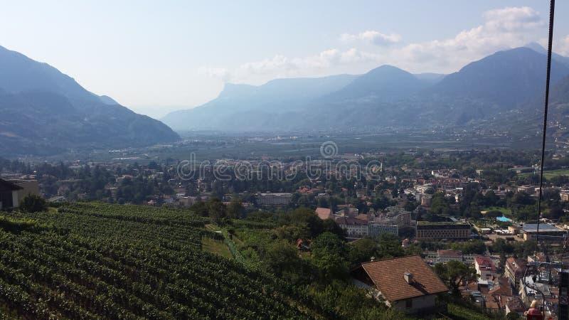 El Tirol del sur, Meran fotos de archivo libres de regalías
