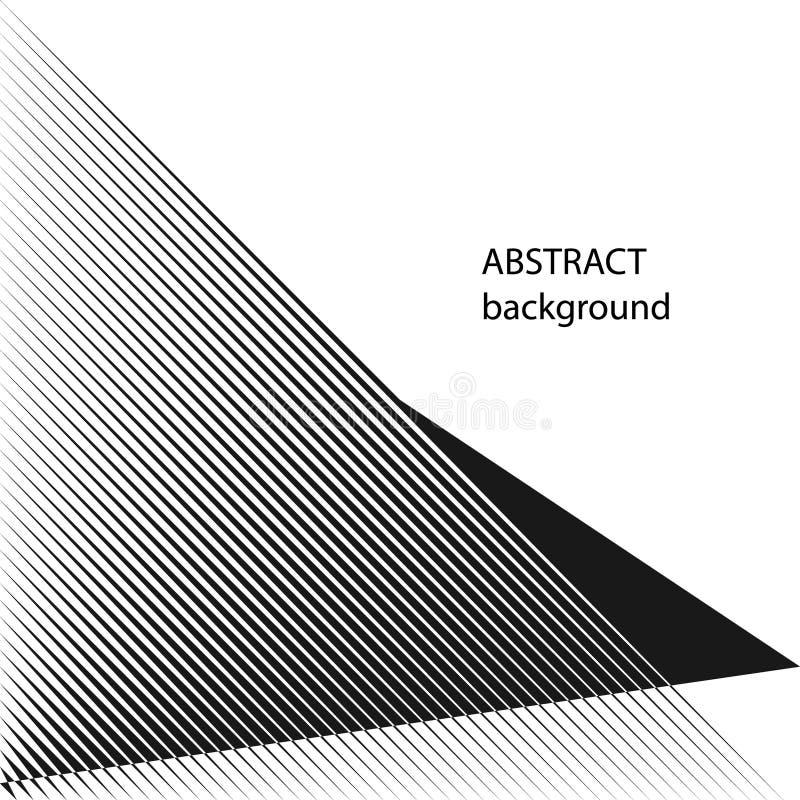 El tono medio abstracto alinea el fondo libre illustration