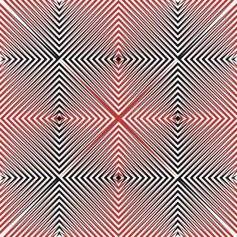 El tono medio abstracto alinea el modelo inconsútil ilustración del vector