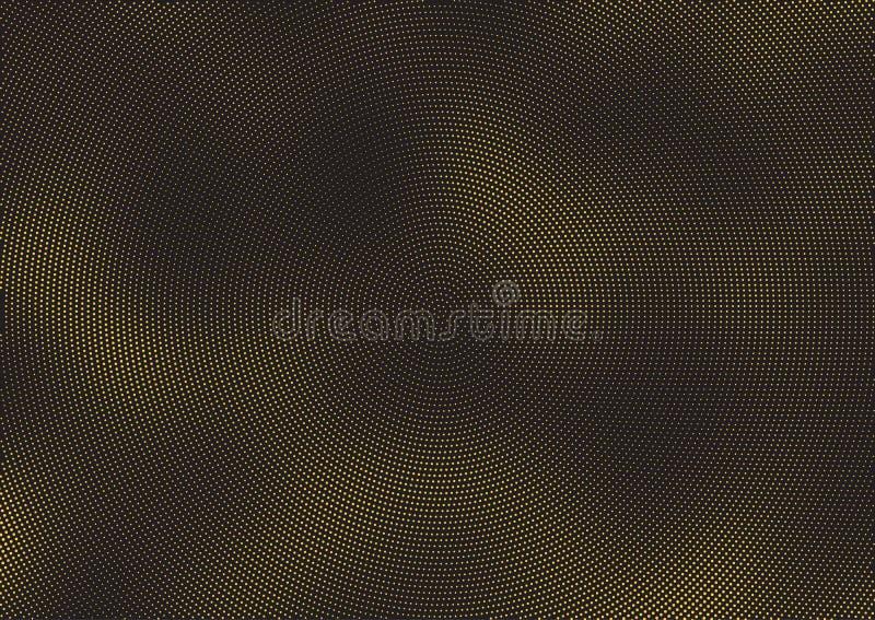 El tono medio abstracto puntea el fondo stock de ilustración