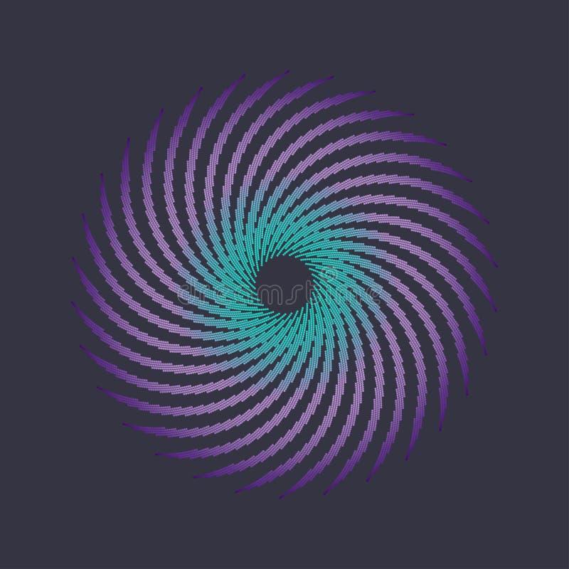 El tono medio puntea formas libre illustration