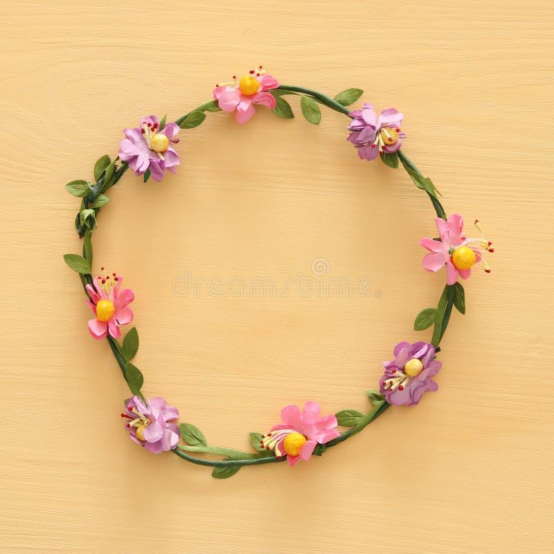 El top compite imagen de la decoración principal decorativa floral Símbolos de j fotografía de archivo libre de regalías