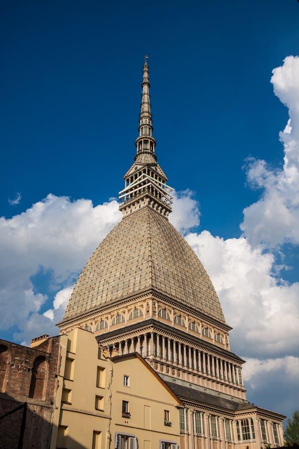 El topo Antonelliana, Turín, Italia fotografía de archivo libre de regalías