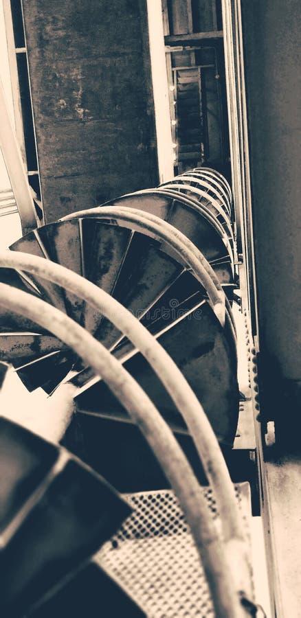 El torcer en espiral imagen de archivo