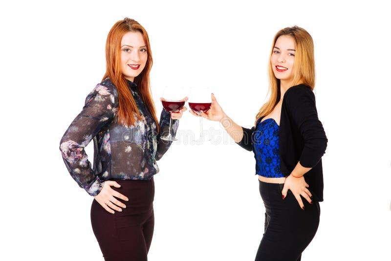El tostar de las señoras imagen de archivo libre de regalías