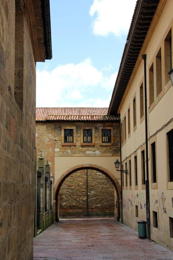 El Townof viejo Oviedo imágenes de archivo libres de regalías