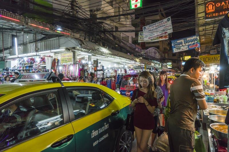 El tráfico en Bangkok foto de archivo libre de regalías