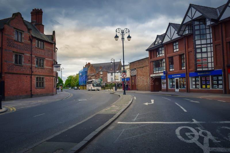 El tráfico en Chester estaba libre foto de archivo libre de regalías