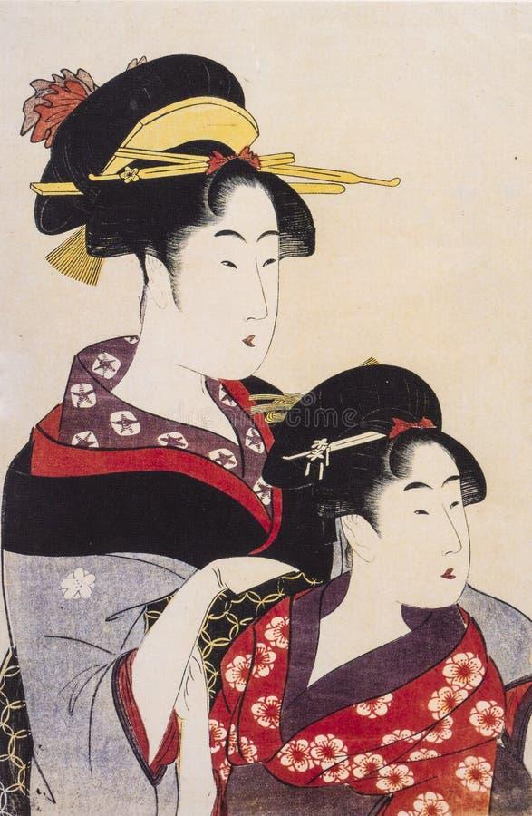 El traje tradicional de Japón foto de archivo libre de regalías