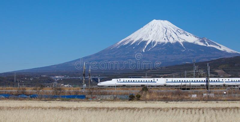 El tren de bala de Japón shinkansen imagen de archivo libre de regalías