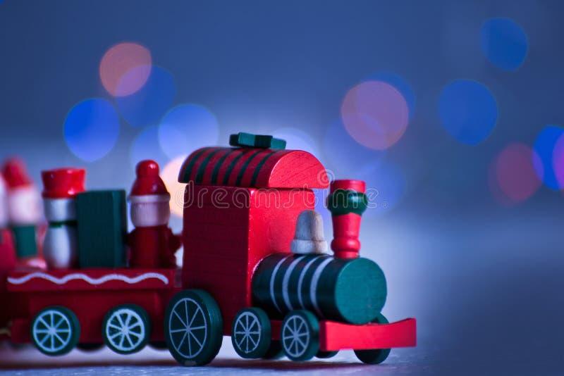 El tren está viniendo fotografía de archivo libre de regalías