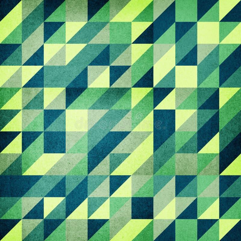El triángulo moderno basó el fondo imagenes de archivo