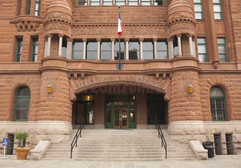 El tribunal del condado de Bexar imagen de archivo