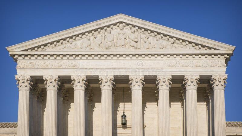 El Tribunal Supremo fotografía de archivo libre de regalías