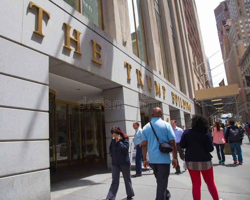 El triunfo que construye NYC foto de archivo