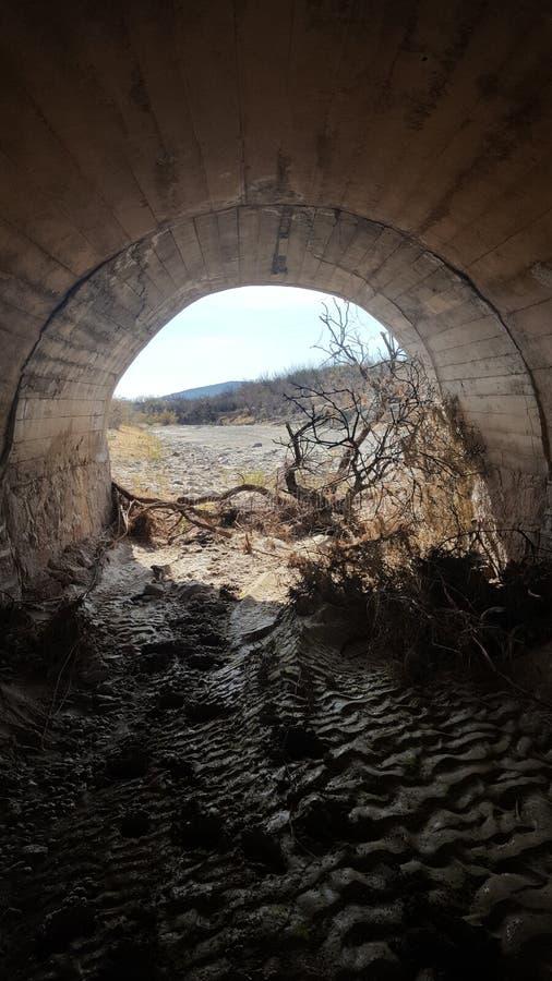 El Tunel De Los angeles Wzrok zdjęcia stock