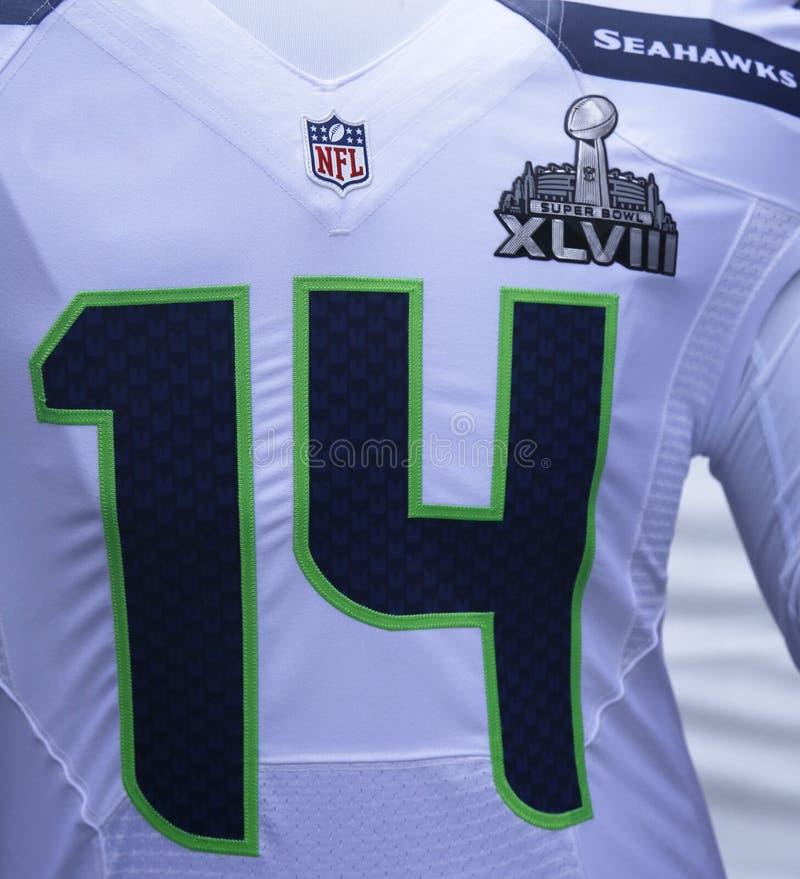 El Uniforme Del Equipo De Los Seattle Seahawks Con El Logotipo Del ...