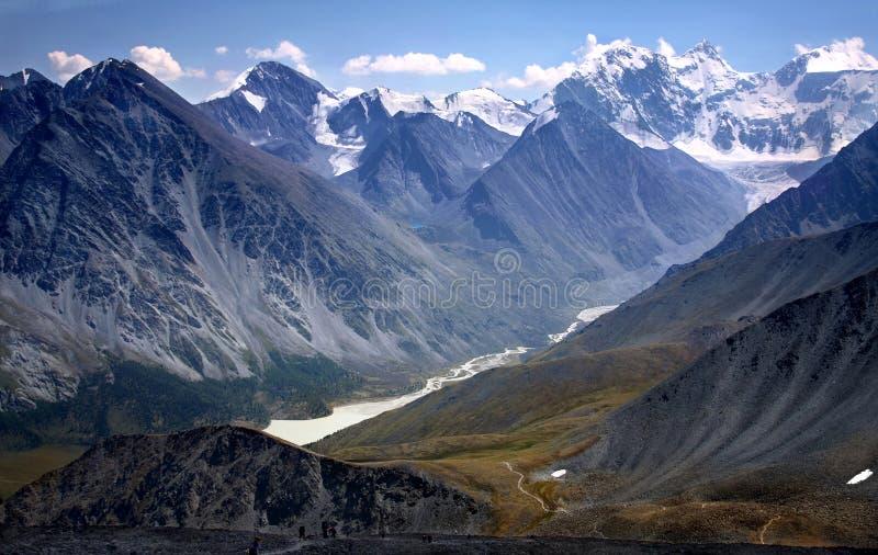 El valle de Akkem foto de archivo libre de regalías