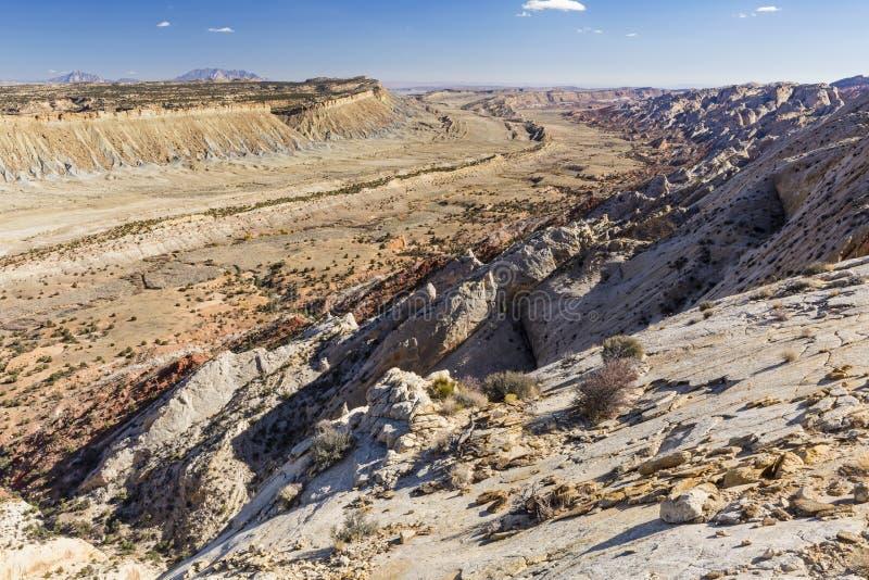 El valle de la huelga pasa por alto foto de archivo