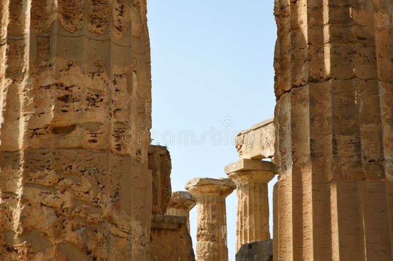 El valle de los templos de Agrigento - Italia 011 imagenes de archivo