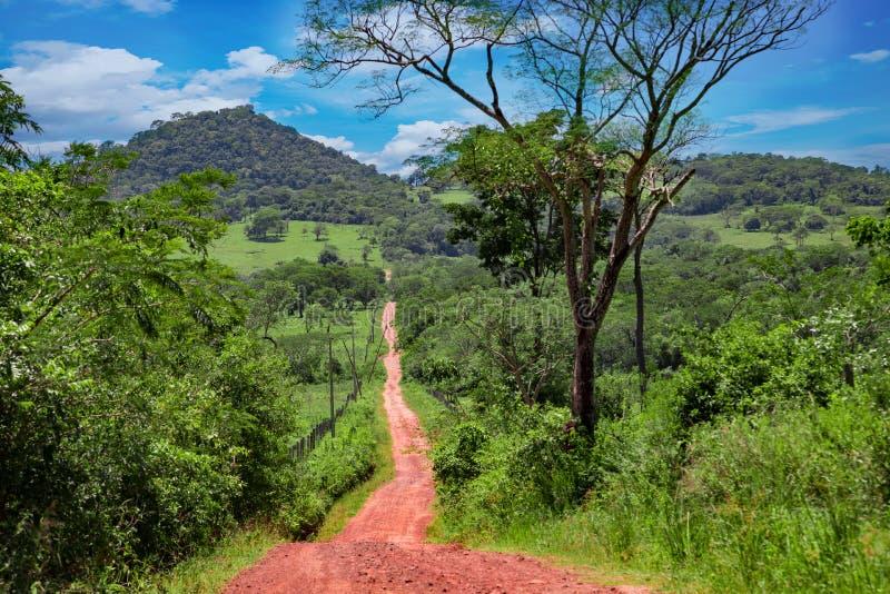 El Valle rozważa jeden piękni miejsca w Panama obrazy stock