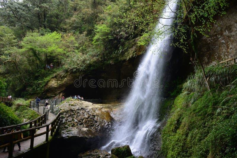 El valle se cose con las pequeñas corrientes del agua foto de archivo libre de regalías