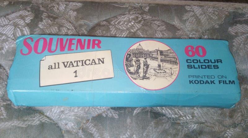 El Vaticano resbala el recuerdo fotos de archivo
