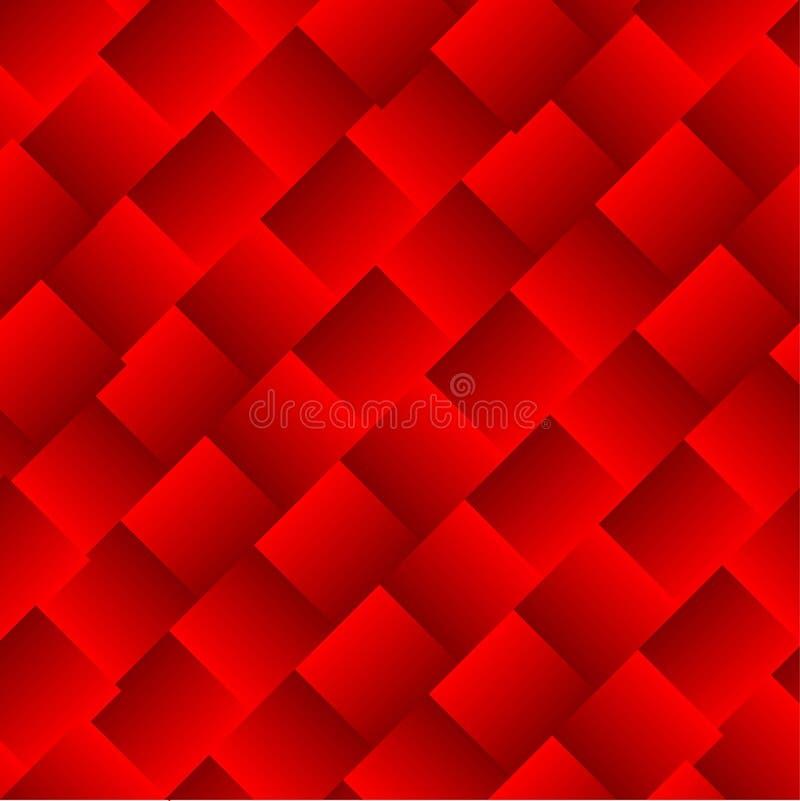 El vector abstracto ajusta el fondo rojo fotos de archivo libres de regalías
