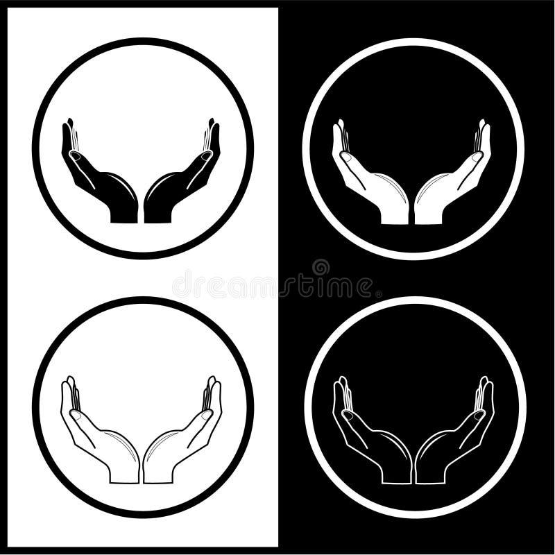 El vector da iconos stock de ilustración