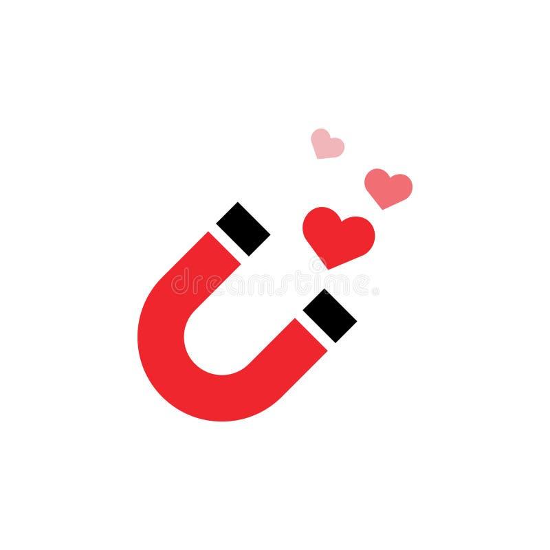 El vector de la plantilla del diseño gráfico del imán aisló stock de ilustración
