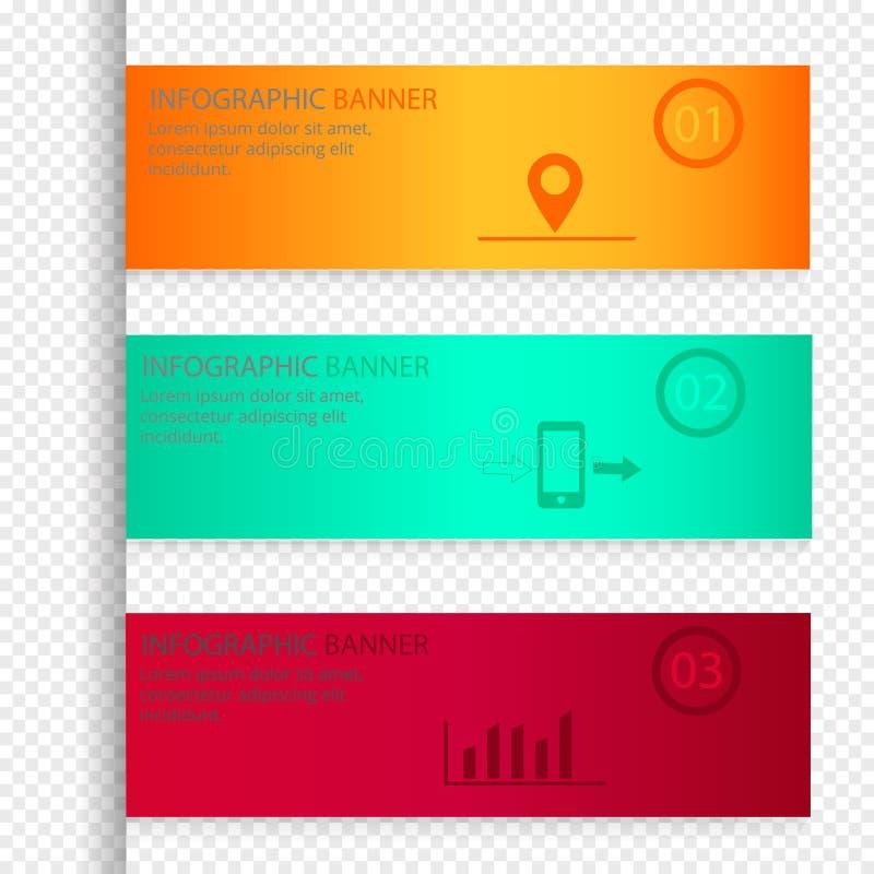 El vector de los elementos de Infographic fijó en un fondo transparente libre illustration