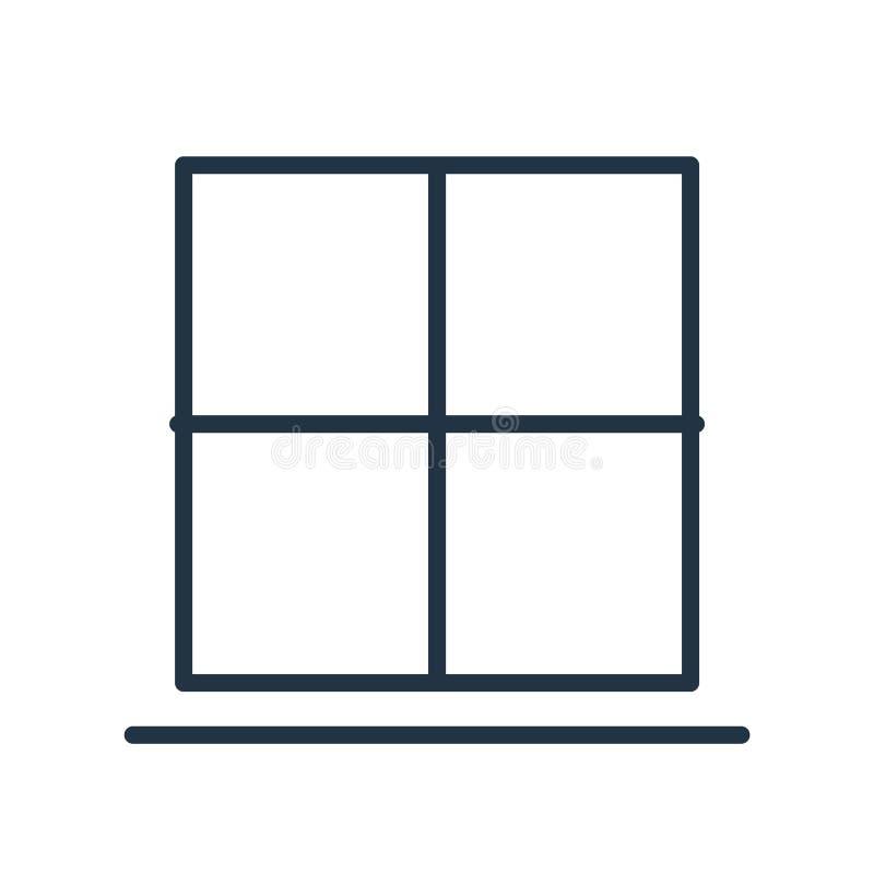 El vector del icono del parte movible aislado en el fondo blanco, inserta la muestra ilustración del vector