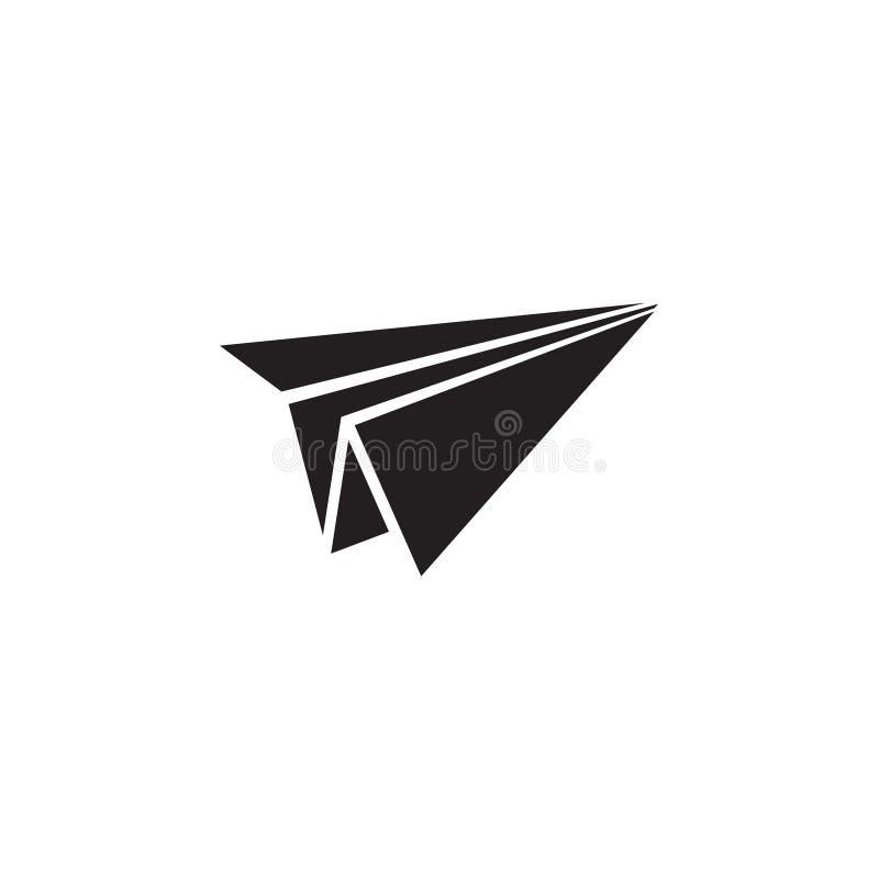 El vector plano de papel de la plantilla del dise?o gr?fico del icono aisl? libre illustration