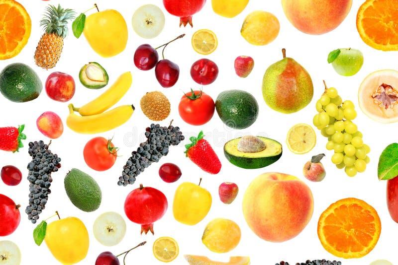 El vegetariano clasificó la comida sana foto de archivo libre de regalías